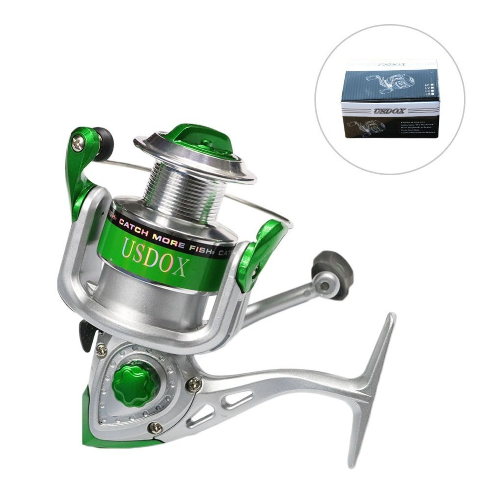 Spinning Reels Spinning Fishing Reel 9+1/10+1BB 5.3:1 0.68lb Light Weight Ultra Smooth Powerful Carp Fishing Rods Reels