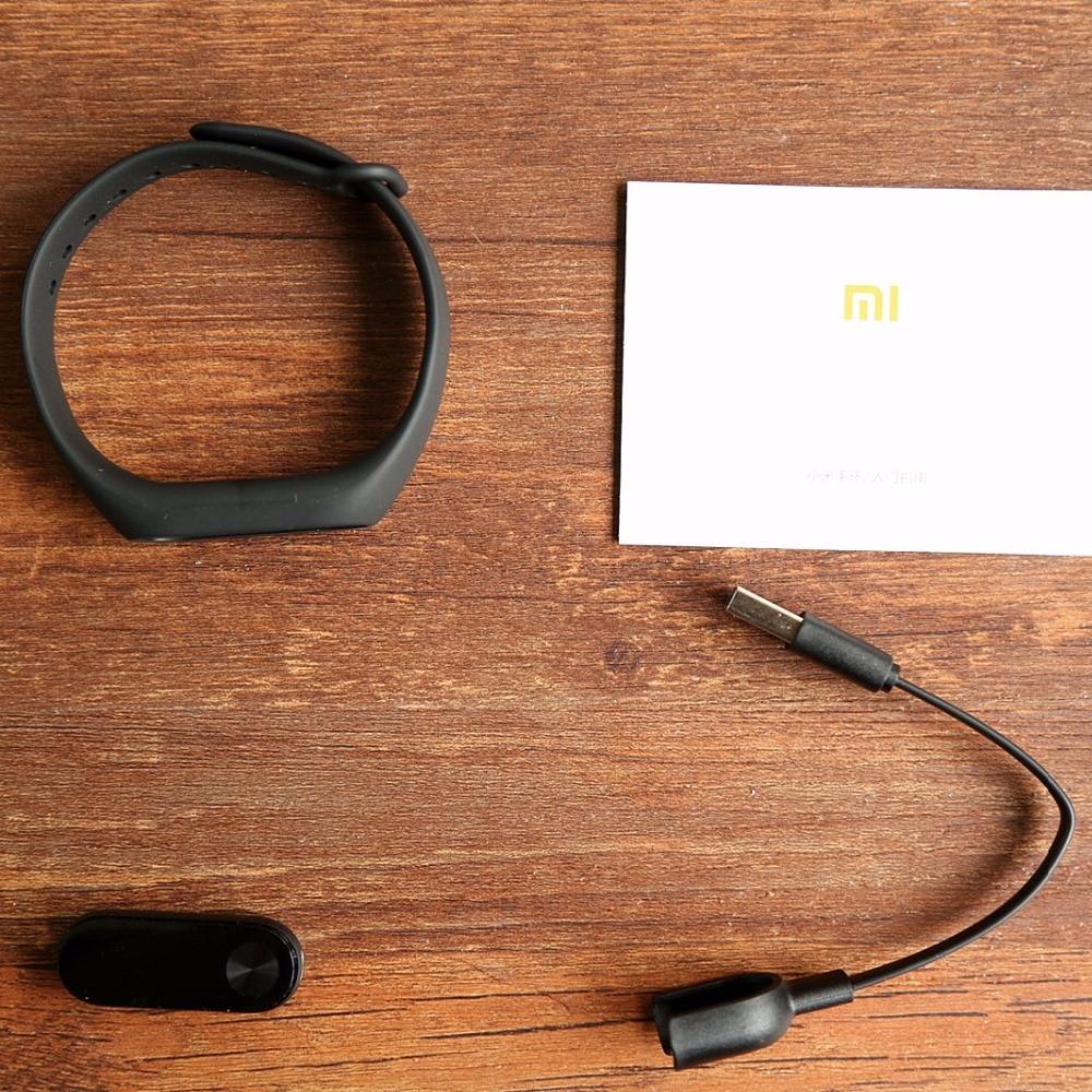 Xiaomi Mi Band 2 Smart Bracelet Watch OLED Display Heart Rate Monitor Bluetooth Fitness Tracker Waterproof Miband 2 5