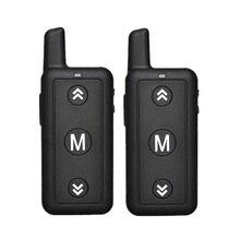 16 canaux Leixen VV 109 Woki Toki 1 Watt FRS petite taille Radio bidirectionnelle Mini talkie walkie pour Restaurant et enfants