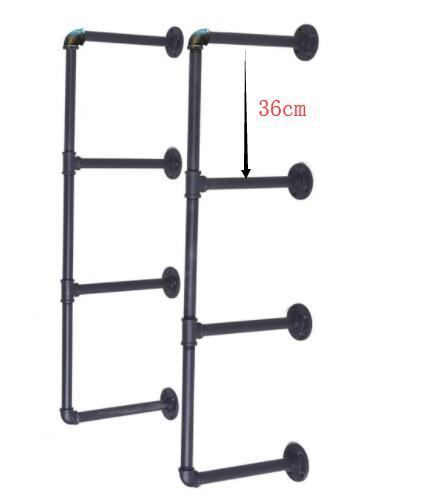 3 Sets Customized Pipe Shelf 30cm Wide 36cm Spacing