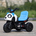 Children electric motor car battery electric tricycle baby panda paragraph can sit factory direct one generation