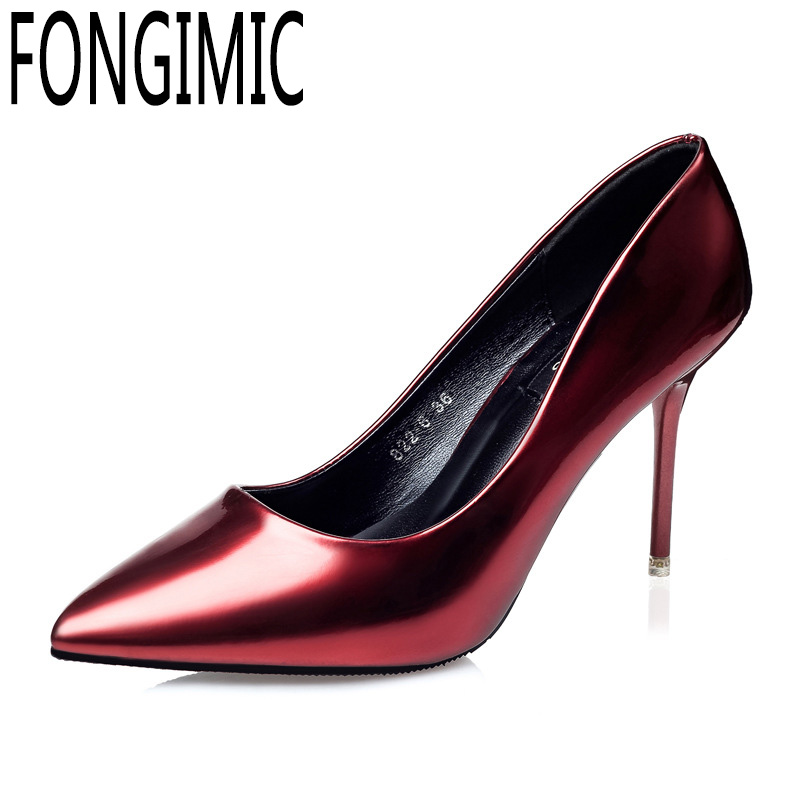 OL professional shallow thin heel women spring summer breathable single shoes Korean fashion pointed toe sexy hot high heels 8cm 2015 spring and autumn single shoes cutout hasp pointed toe high heels ol thin female fashion sandals