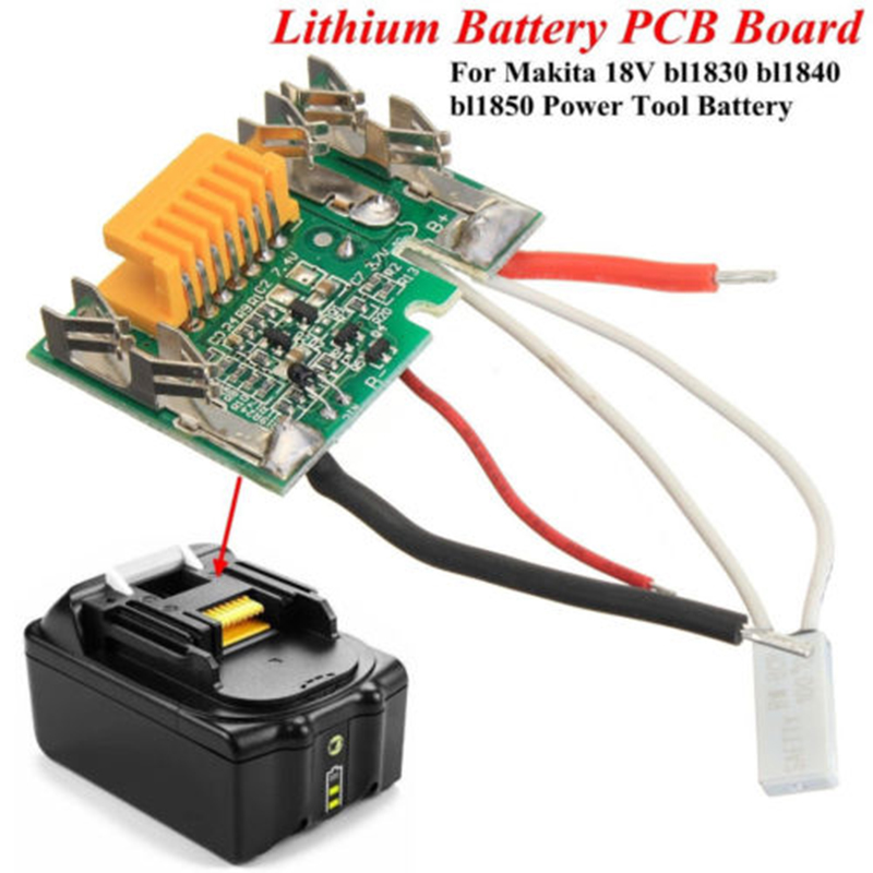 18V 3A Lithium Battery PCB Chip CCL Board for Makita BL1830 BL1840 BL1850 LXT400 hot 2x 18v 4 0ah battery for makita bl1840 bl1830 bl1815 lxt lithium ion cordless