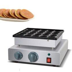 Free Shipping Commercial Nonstick 42mm 25pcs Poffertjes Mini Dutch Pancake Maker Iron Machine Baker Grill