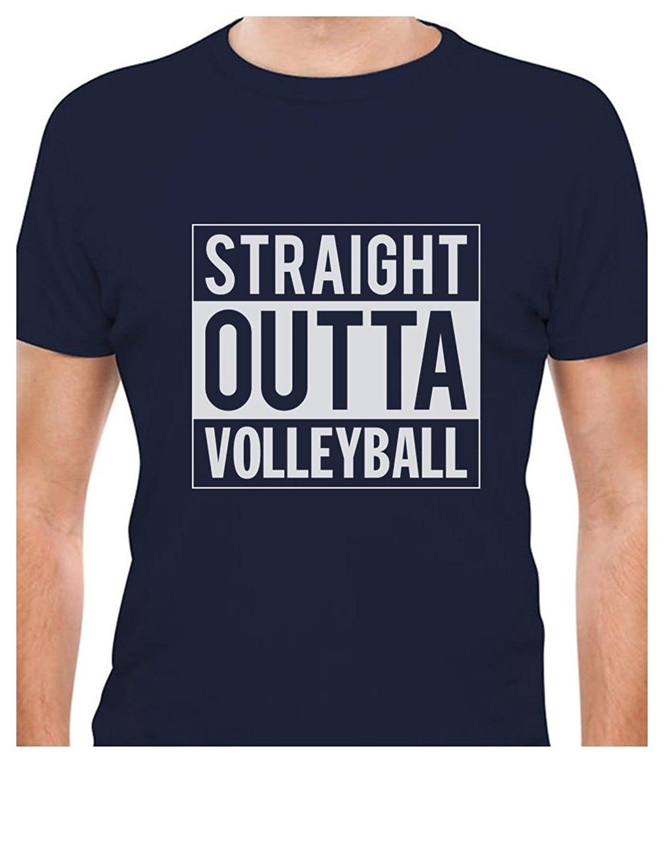 T shirt design volleyball - Printed Tee Shirt Design Straight Outta Volleyballer T Shirt Circle T Shirt Designers China