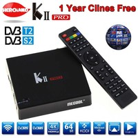 KII Pro Amlogic S905 DVB S2 T2 Android Smart Tv Box DVB T2 DVB S2 2G