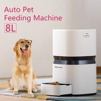 Горячая автоматическая машина для кормления домашних животных Smart Feeder собака кошка еда диспенсер 8L большой ёмкость приложение управление о