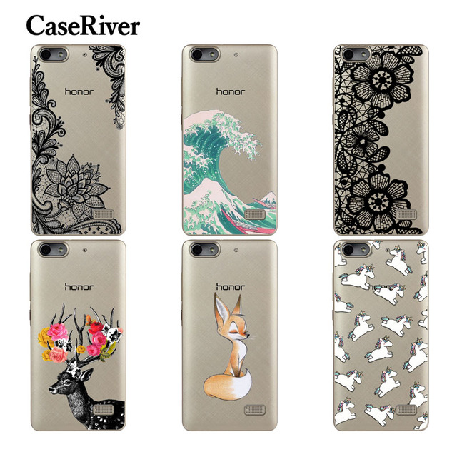 CaseRiver Huawei G Play mini Case Cover, Soft Silicone Protective Case For Huawei honor 4C CHC-U01 CHM-U01 Phone Cases