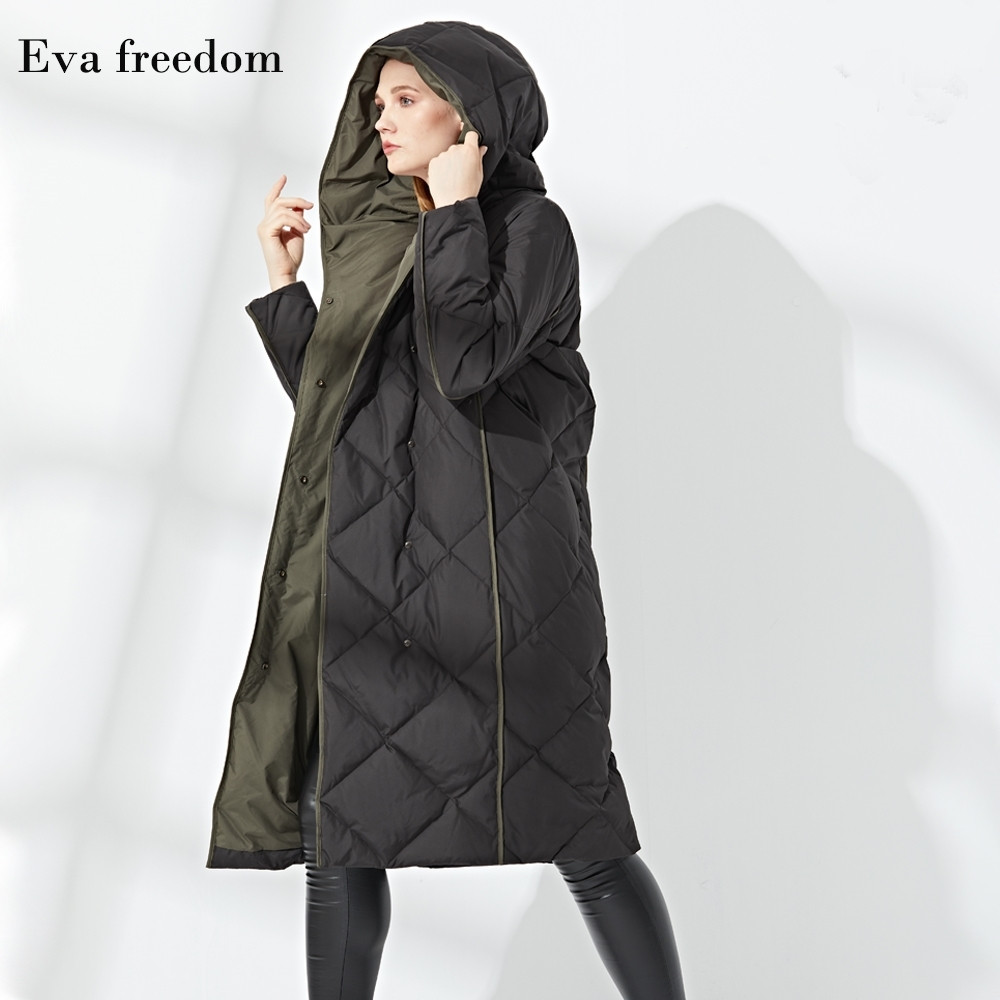 2018 winter new fashion brand high quality White duck down hit colors Argyle women down coats full sleeve down jackets gx1183