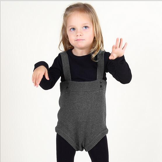 knitted rompers cotton Baby