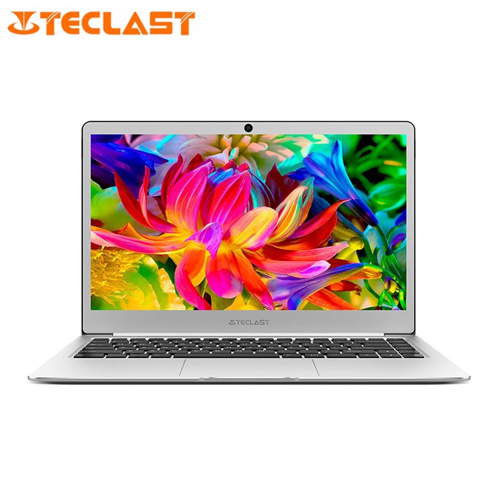 Teclast F6 Laptop 13.3'' IPS Windows 10 Home English Version Intel Apollo Lake N3450 Quad Core 1.1GHz 6GB RAM 128GB SSD Latops