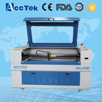 Acctek China Cheap Laser Cutting Engraving Machine Laser Cutting Paper Machine 1390 1290