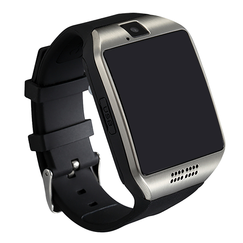 Smart Watch Q18 Clock Support SIM TF Card Bluetooth NFC Connection with 0.3MP Camera For Apple IOS Android Phone Smartwatch z50 smart watch phone bluetooth3 0 connected with camera support sim card tf card smartwatch for ios and android smartphone