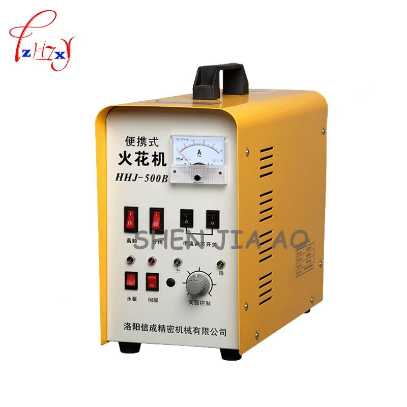 1pc 220V 500W HHJ 500B portable EDM machine screw tool broken wire removal device electric spark take taps machine