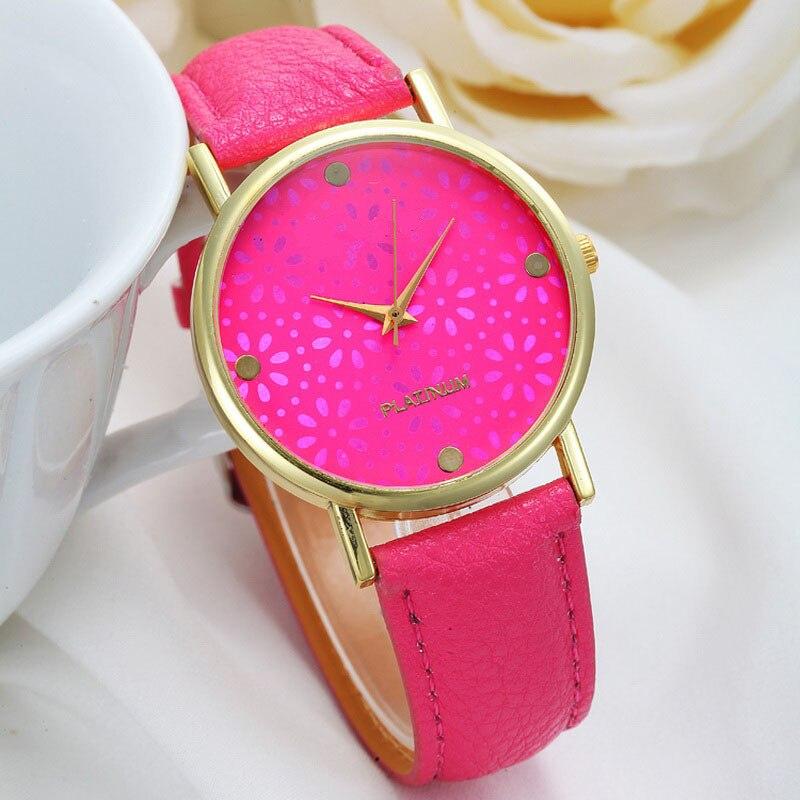 Women Watches Leather Strap Cheap Casual Quartz Wristwatch Ladies Barato Girls Fashion Snowflake Relogio Feminino Montre Femme
