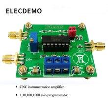 PGA202 digital instrumentation amplifier digital programmable gain data acquisition automatic adjustment circuit цена в Москве и Питере