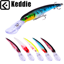 keddie 1PCS 16.8cm 28.9g Wobbler Fishing Lure Massive Minnow Crankbait Peche Bass Trolling Synthetic Bait Pike Carp lures 222