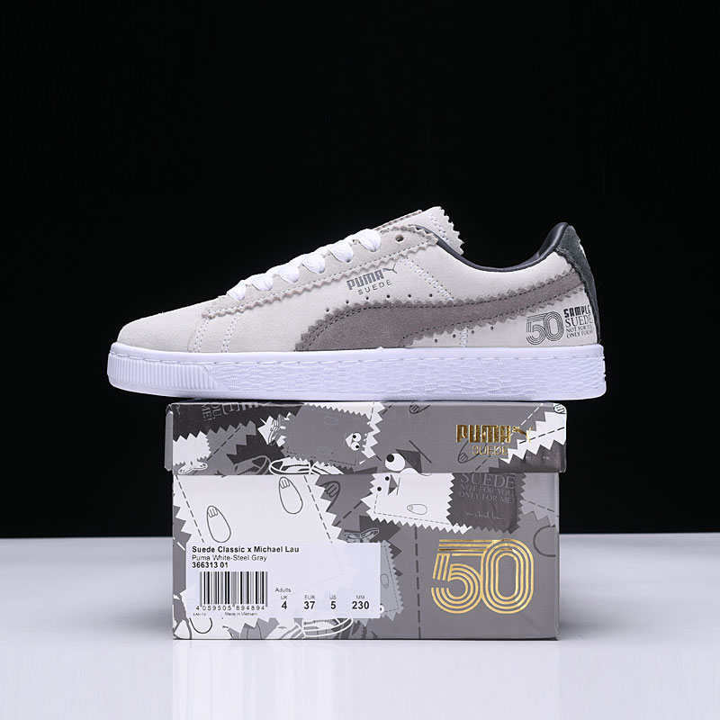 2ad7da3bde5 PUMA Suede Classic Tonal Sneakers Shoes the 50th Anniversary Men s and Women s  Lovers Shoes Badminton Shoes Size 35.5 44-in Badminton Shoes from Sports ...