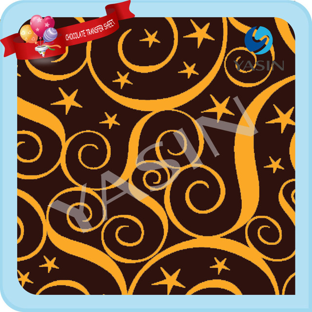 Free Shipping Valentine S Day Chocolate Transfer Sheets Chocolate