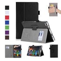 High Qualtiy Case For Lenovo Tab4 8 TB 8504F TB 8504N 8 Cover Funda Tablet PU