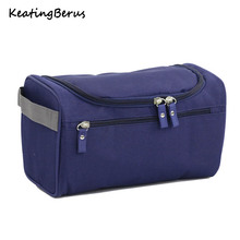 High Quality Nylon Men Hanging Cosmetic Bag Travel Organizer Makeup Bag for Women Necessaries Make Up Case Wash Toiletry Bag new fashion women makeup bag nylon waterproof men hanging make up organizer travel cosmetic bag wash toiletry case necessaire