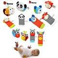 Buscador Del Pie del Traqueteo del bebé Juguetes de la Muñeca Pequeño Juguete Suave Del Bebé para 0-12 Meses Los Niños Recién Nacido Felpa calcetines Brinquedos