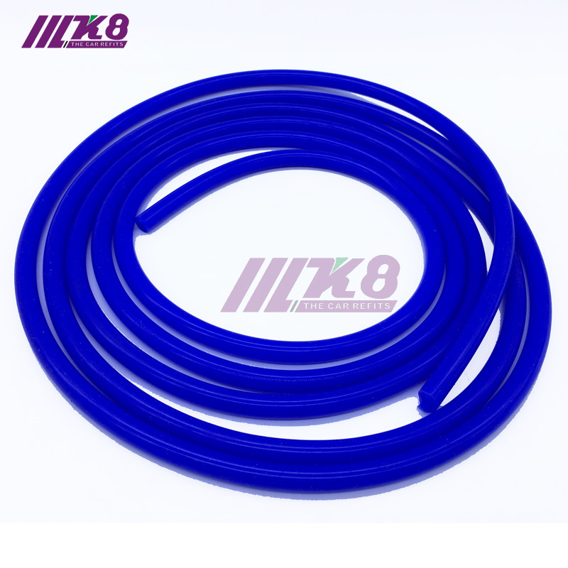 10 Meters  6mm Universal Blue Silicone Vacuum Tube Hose Silicon Tubing 16.4ft