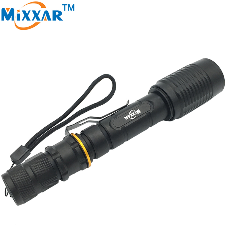 RUZK40 LED Flashlight V5 CREE XM-L T6 5000Lumens 5-Modes Zoomable Torch Tactical flashlight Waterproof Camping Hunting Lamp 3000 lumens zoomable cree xm l t6 led tactical flashlight torch zoom lamp light waterproof led 5 modes for 1x18650 3xaaa