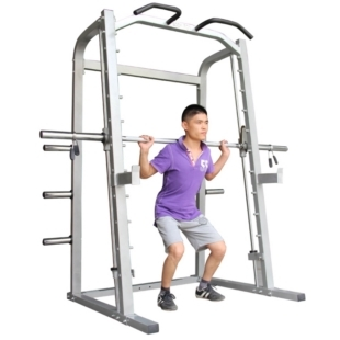 Professional fitness squat rack smith rack smith comprehensive training multifunctional weightlifting bed smith