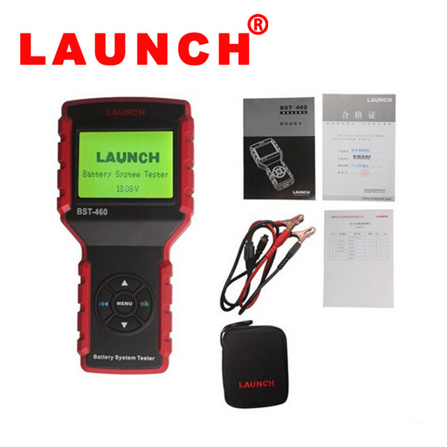 2016 Oringinal Multi-language Professional Battery Diagnostic Tools Launch BST-460 BST 460 BST460 With Good Quality