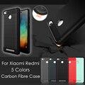 for Xiaomi Redmi 3 s Cover Bag Thin Matte Carbon Fiber fundas Brushed Phone Case for Xiaomi Redmi 3s Redmi note3 Xiomi Mi 4 Mi 5
