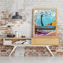 Laeacco Modern Watercolor Canvas Painting Graffiti Posters Prints Abstract Wall Art Picture Nordic Living Room Salon Home Decor