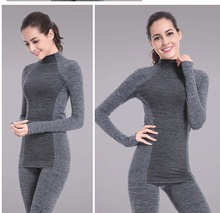 C&C Market.Free Shipping.women's sets.tight stretch,quality tops+pants.quality,fitness coolmax warm underwear