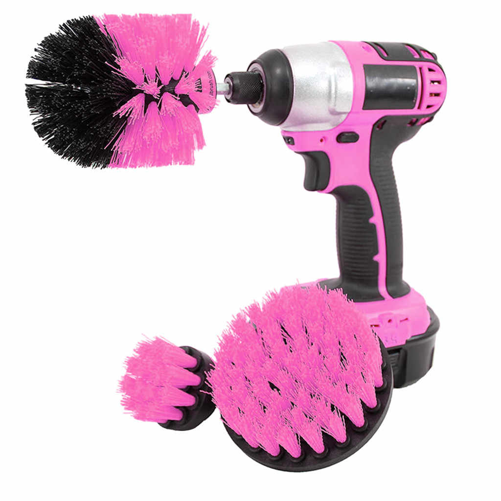 Best Selling 2019 Products Power Scrubber Brush Drill Brush Clean For Bathroom Surfaces Tub Shower Power Scrub Cleaning Kit K20