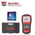 AUTEL MaxiDiag Elite MD702 4 Система + Модель DS OBDII Code Reader MD 702 Двигатель + Коробка Передач + ABS + Подушка Безопасности для Европы Автомобиль