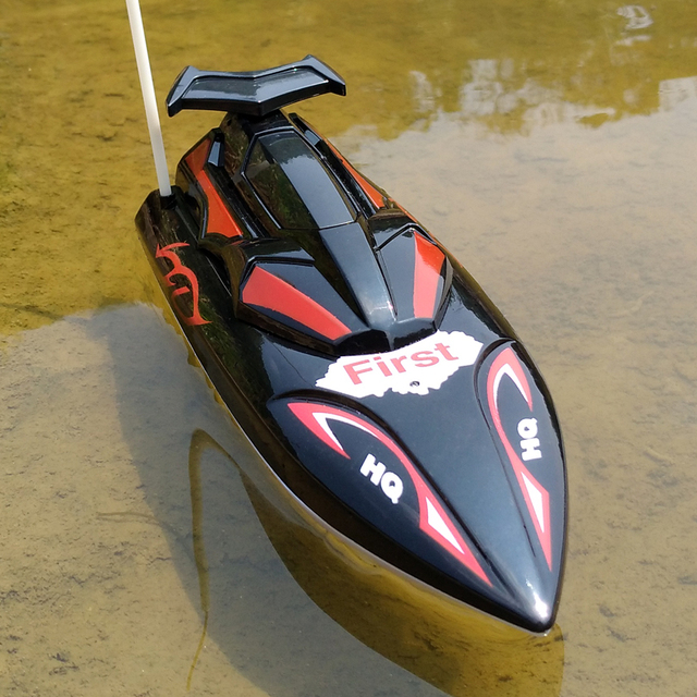 Flytec HQ2011-15C 10km/h 27Mhz Mini Infrared Control RC Boat Ship Super Speed RC Ship Speedboat Electric RC Toys