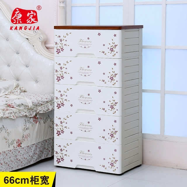 Kang Genuine Drawer Storage Cabinets Lockers King Plastic Chest Of Drawers Wood Top Finishing Cabinet Baby