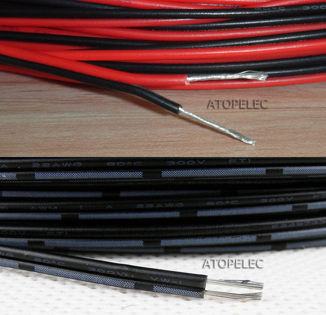 20AWG 2468 UL2468 PVC 2 Pin 2pin Tinned Copper Wire Cable Cord ROHS ...