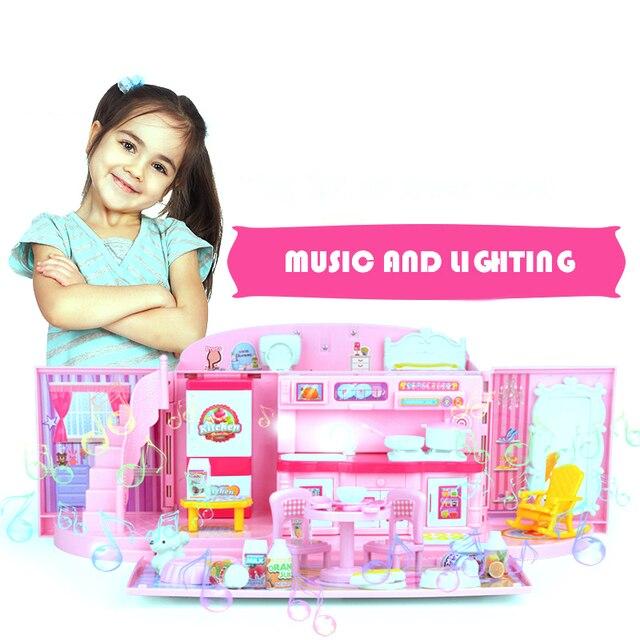 Toy Kitchen Sets For Kids Handbag House Pretend Play Kitchen Toys