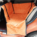 freeship rear Single seat pet car pet cushion mats waterproof car pet dog pad with safety belt clasp cushion 60*55*35cm 4 color