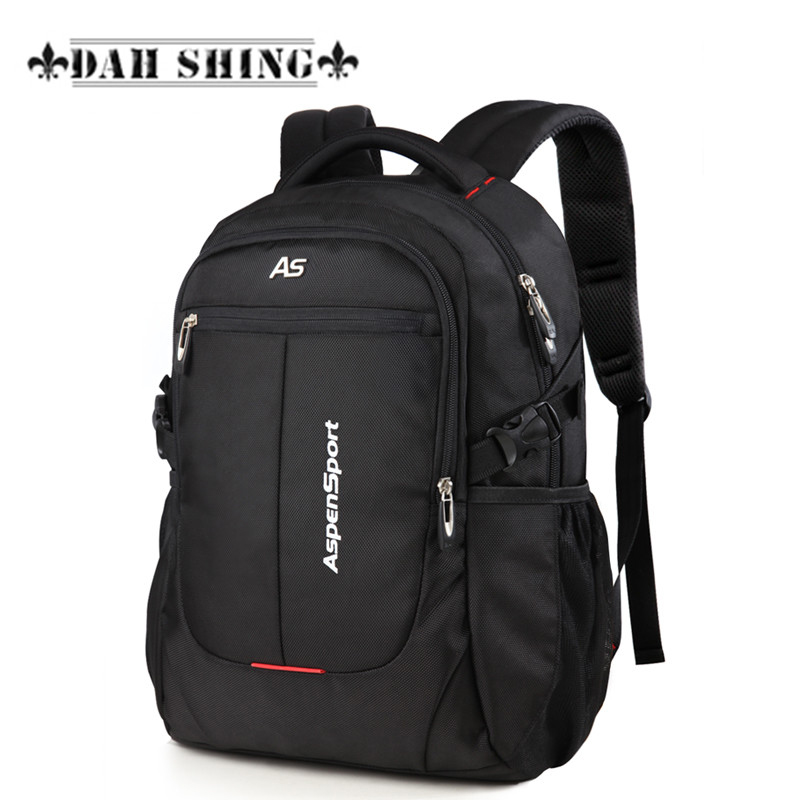 Hot 2017 large capacity durable waterproof Nylon women backpack school bag men's travel bag 15-17 laptop bag 3 sizes voyjoy t 530 travel bag backpack men high capacity 15 inch laptop notebook mochila waterproof for school teenagers students