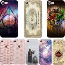 phone case Harry Potter design soft TPU clear Transparent case cover for Apple iPhone 7 7plus 6 6S 6plus 5S SE coque fundas(China (Mainland))