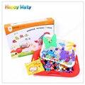 Творческая Мозаика Игрушки Подарки Дети Ногтей Фоторобот Puzzle Творческий Мозаика Гриб Ногтей Комплект Puzzle Игрушки