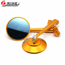 цена на for universal Black Motorcycle rearview Mirrors 7/8
