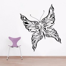 Butterfly Wall Sticker Vinyl Home Decoration Accessories Removable Poster  Decal Style Bedroom Decor Mural