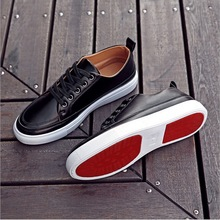 The new age season 2017 authentic han edition men's black shoes sneakers men leisure fashion shoes factory direct sale size39-44