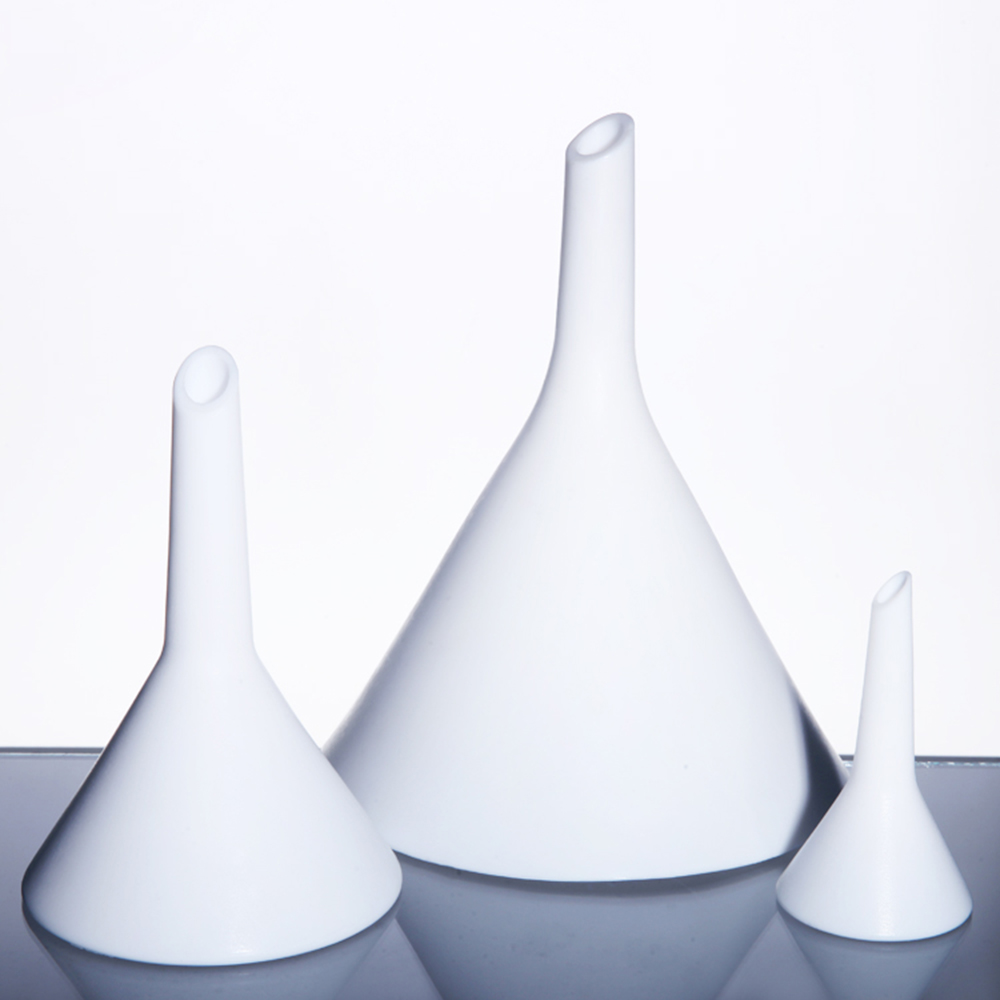 1pcs 52mm Triangle  Funnel for kinds Experiments in Laboratory Diameter 52mm