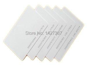 Image 2 - 5YOA 100pcs EM4100 125khz ID Keyfob RFID Tag Tags llaveros llavero Porta Chave Card Key Fob Token Ring Proximity Chip