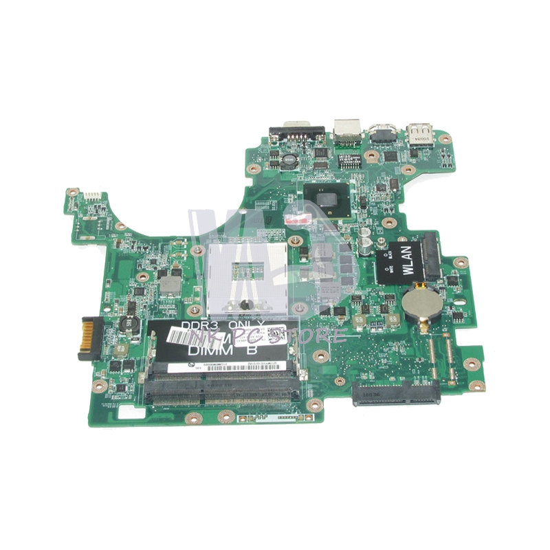 NOKOTION F4G6H 0F4G6H CN-0F4G6H DAUM3BMB6E0 PRINCIPAL BOARD Para Dell Inspiron 1564 Laptop Motherboard HM55 uma DDR3