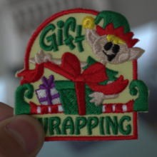 Custom Embroidered Name Patch, Uniform Tag, Personalized Label/Iron on/Sew on
